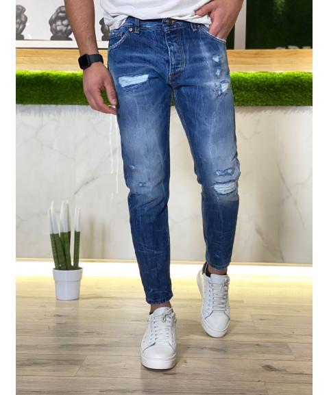 Jeans Budapest con toppe e...